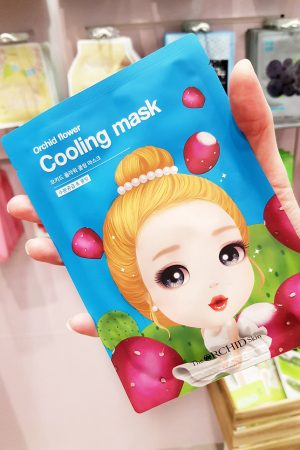 Orchid Skin Flower Cooling Mask Bearel