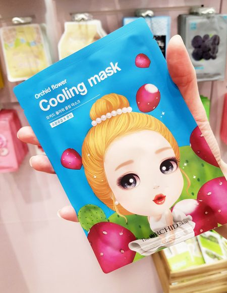 Orchid Skin Flower Cooling Mask Bearel
