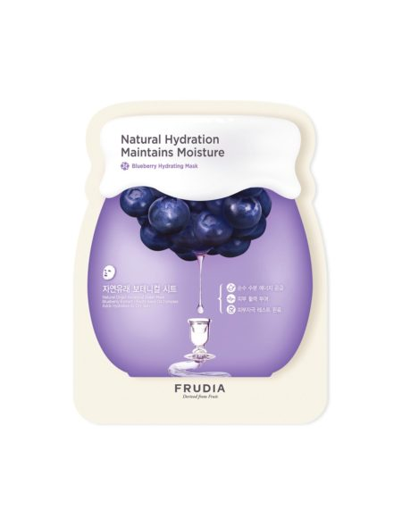 frudia blueberry hydrating sheet mask