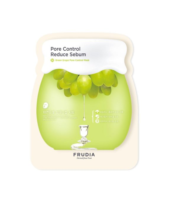 frudia grape pore control sheet mask