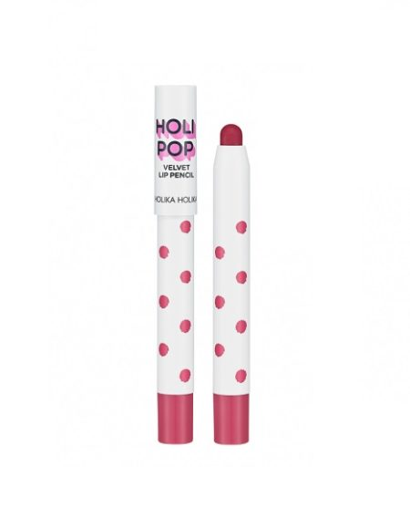 holika holika holi pop velvet lip pencil rose