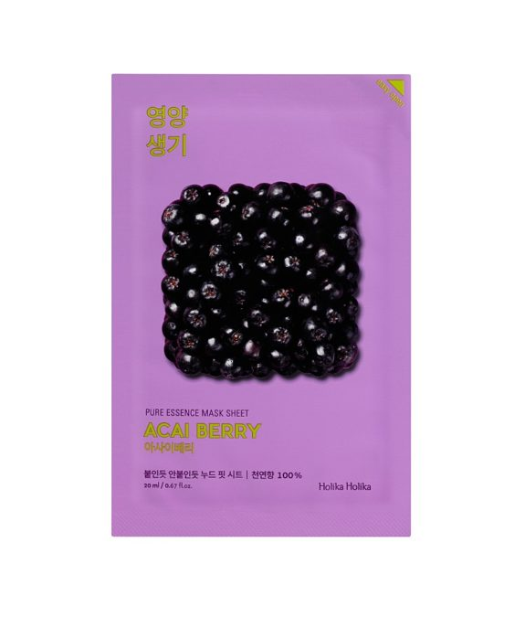 Pure Essence Mask Sheet Acai Berry