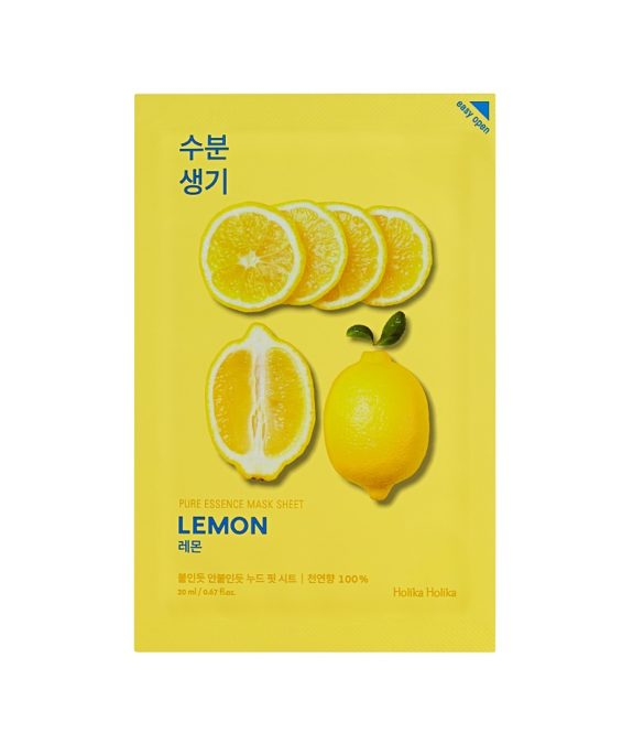 Holika-Holika-Pure-Essence-Mask-Sheet-Lemon