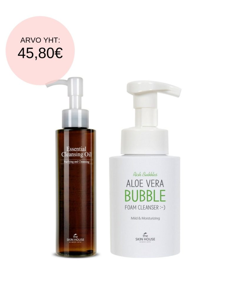 The Skin House Double Cleansing Set