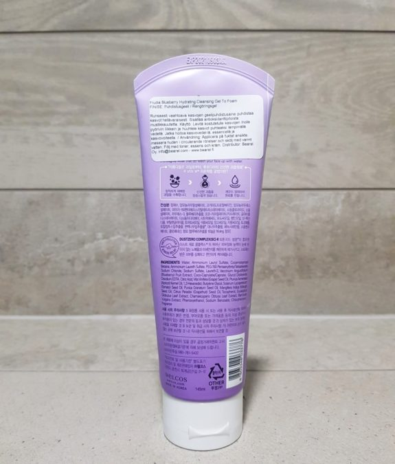 Frudia-Blueberry-Hydrating-Cleansing-Gel-To-Foam