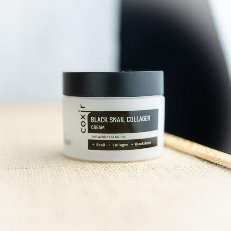 Coxir Black Snail Collagen Cream