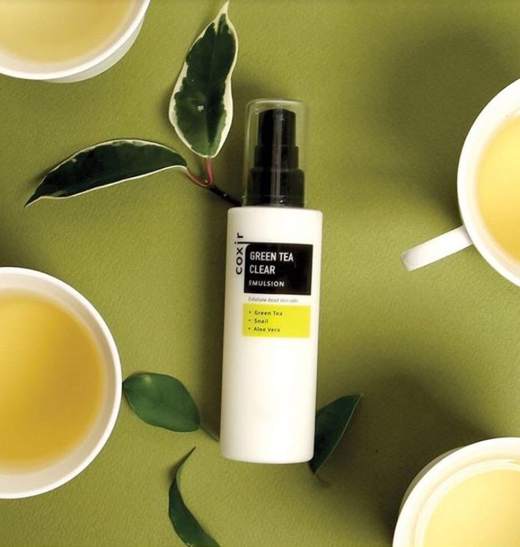 green tea clear emulsion