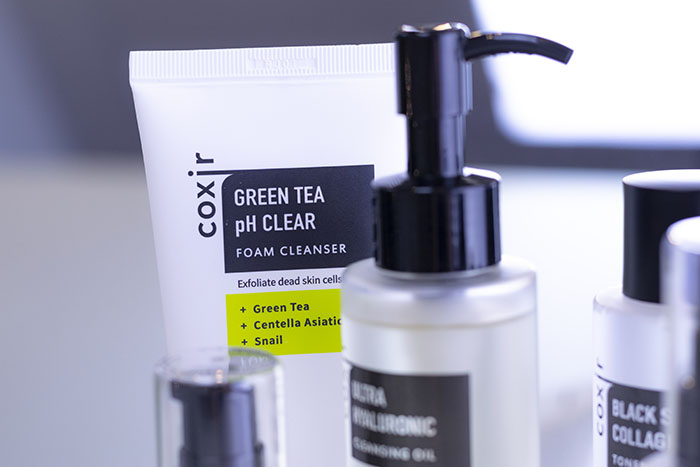 Coxir Green Tea pH Clear -puhdistusaine