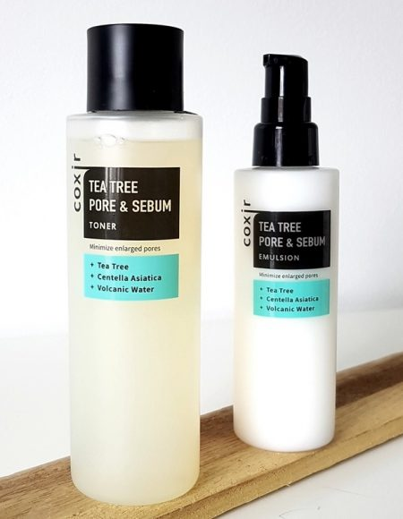 Coxir Pore & Sebum Tea Tree Toner & Serum