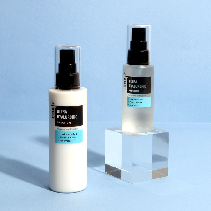 Coxir Ulra Hyaluronic Emulsion ja Ampoule