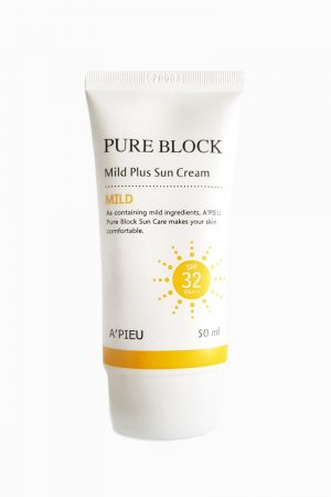A'pieu Pure Block Mild Plus Sun Cream -aurinkovoide
