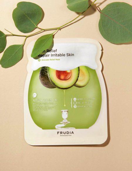 Frudia Avocado Relief Mask -kangasnaamio