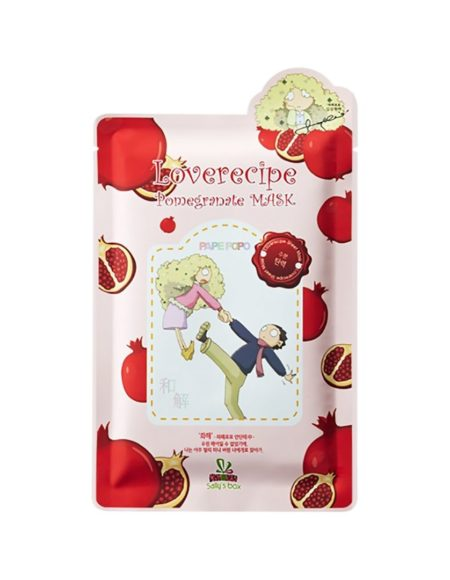 love recipe pomegranate mask