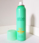 Aloe Soothing Ice Cooling Sun Spray
