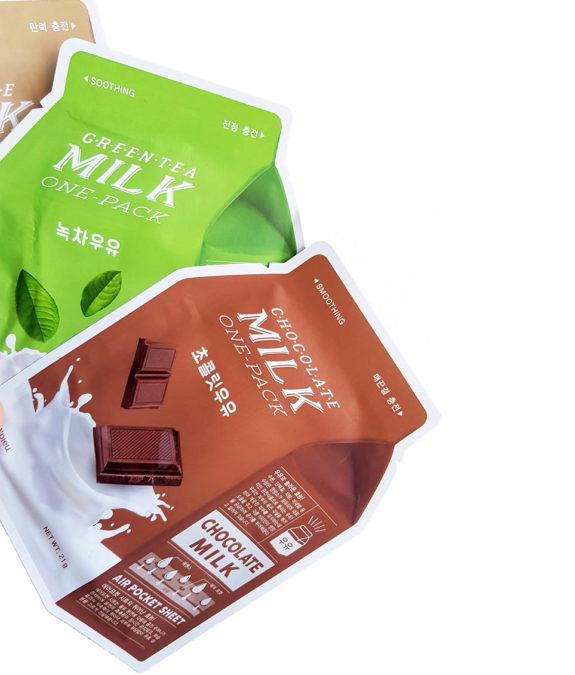 Tilaajalahja Apieu Milk One Pack -naamioita
