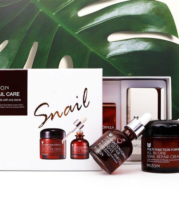 Mizon Snail Care Gift Set -lahjapakkaus 2