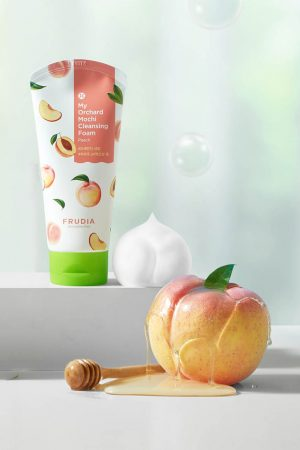 Frudia Mochi Cleansing Foam Peach