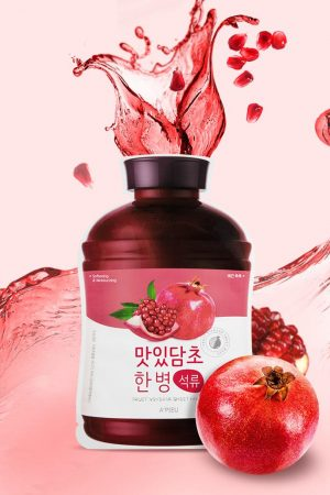 Pomegranate Fruit Vinegar Mask APieu