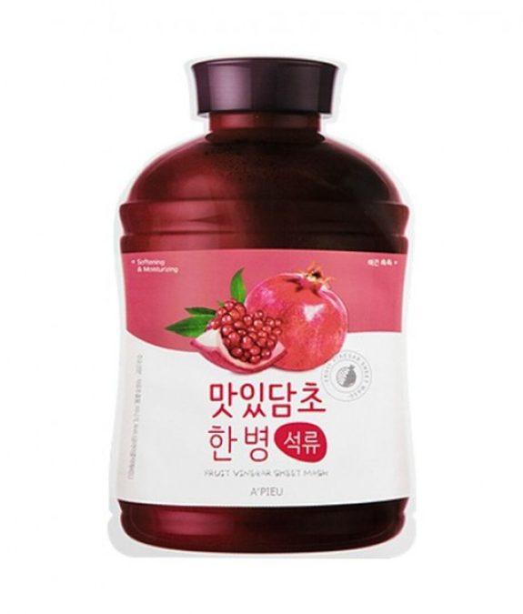 fruit vinegar sheet mask pomegranate