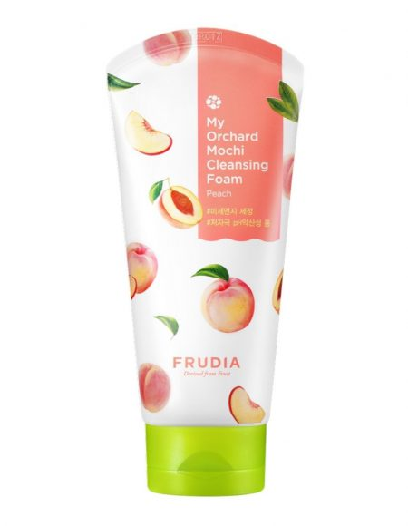 my orchard mochi cleansing foam peach