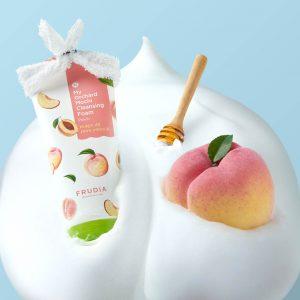 my orchard mochi cleansing foam peach frudia