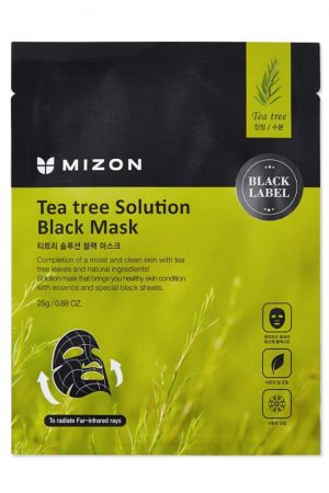 mizon tea tree solution black mask