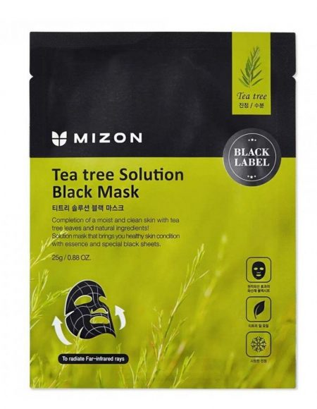 tea tree solution black mask mizon