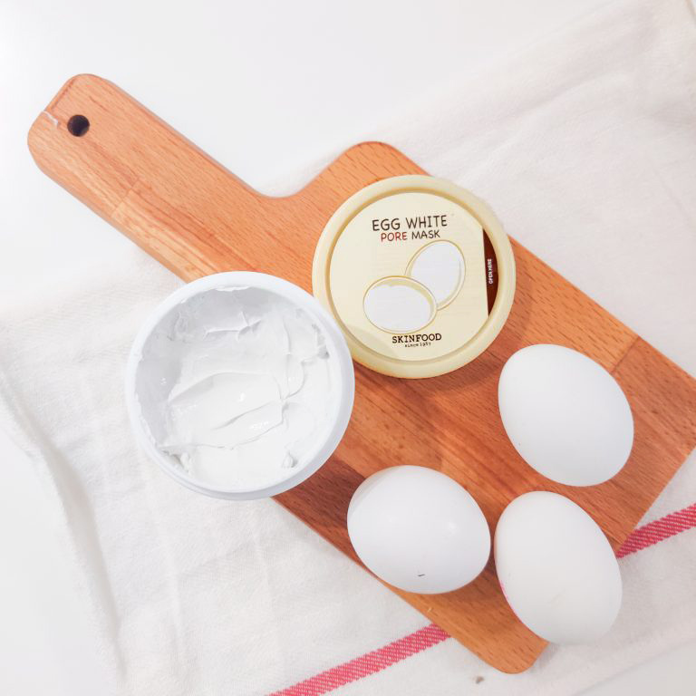 Skinfood Egg White Pore Mask -kasvonaamio