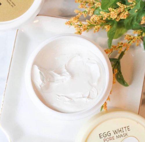 egg white pore mask skinfood
