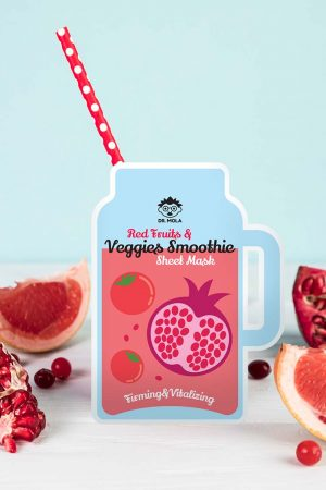 Dr. Mola Red Fruits and Veggies Smoothie Mask