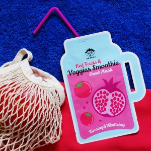Dr. Mola Red Fruits & Veggies Smoothie Sheet mask