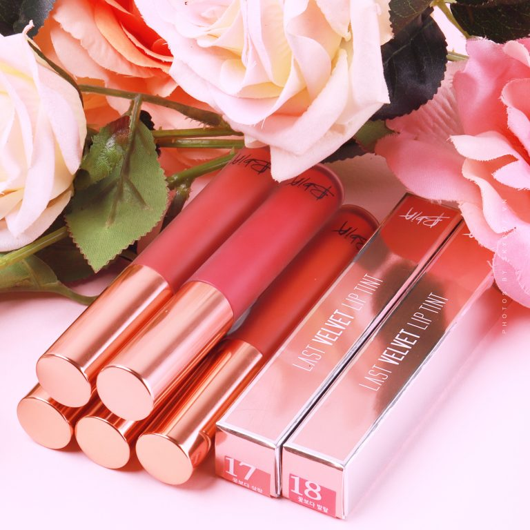 Last Velvet Lip Tint Flower series