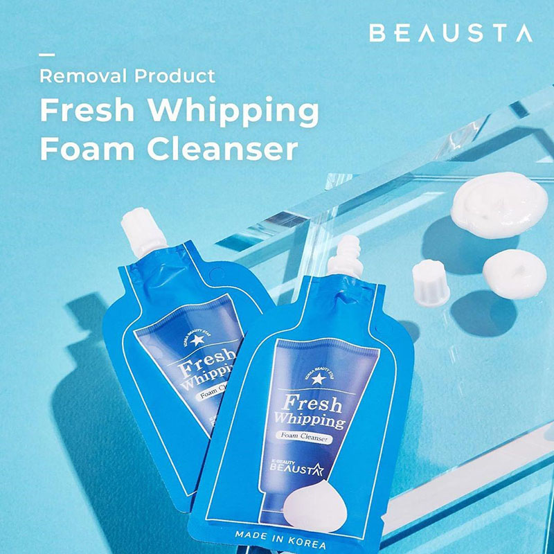 Beausta Fresh Whipping Foam Cleanser