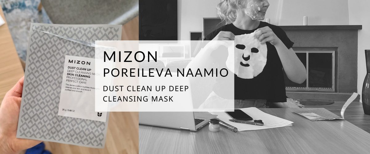 Naamiotarjous Dust Clean Up Deep Cleansing Mask