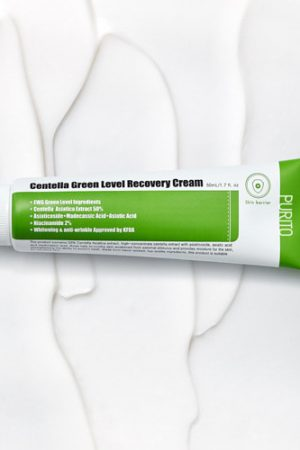 centella green level recovery cream koostumus