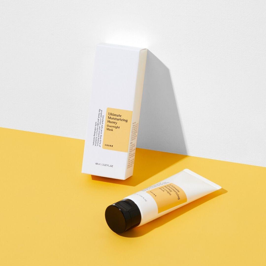 ultimate moisturizing honey overnight mask pakkaus