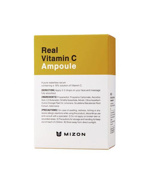 Mizon Real Vitamin C Ampoule -pakkaus