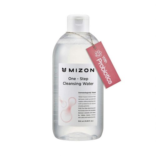 one step cleansing water mizon