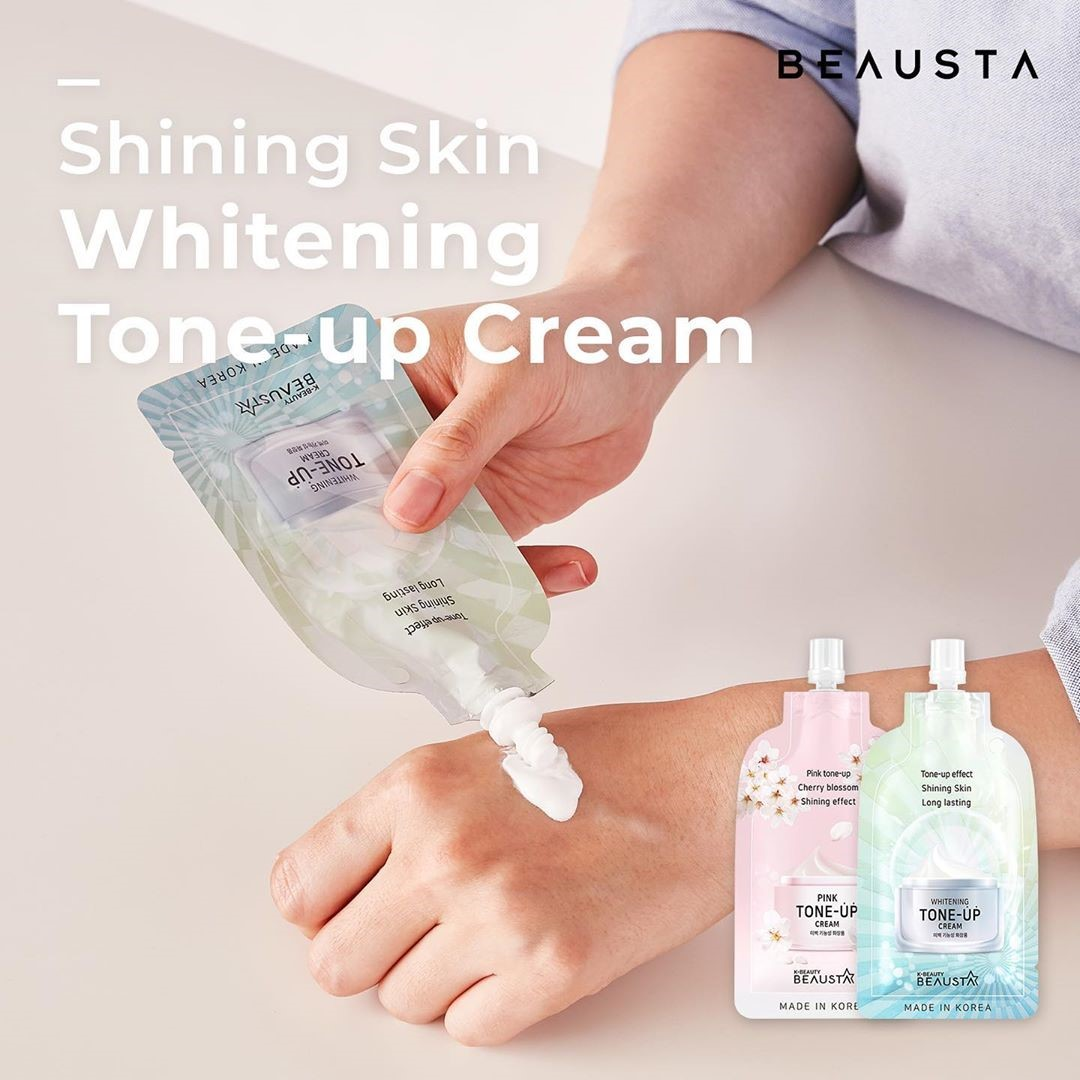Beausta Whitening Tone-Up Cream