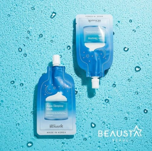 aqua sleeping mask beausta