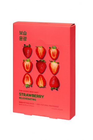 5 x Pure Essence Mask Sheet Strawberry
