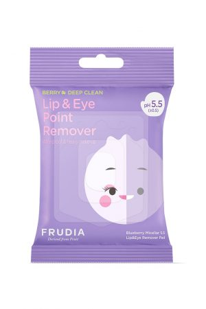 Frudia Blueberry Micellar 5.5 Lip & Eye Remover Pad