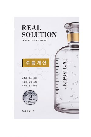 Missha Real Solution Sheet Mask Wrinkle Caring Trylagen