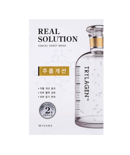 Missha Real Solution Sheet Mask Wrinkle Caring Trylagen