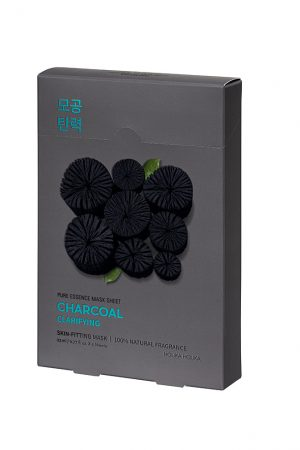 Holika Holika Pure Essence Mask Sheet Charcoal 5 kpl