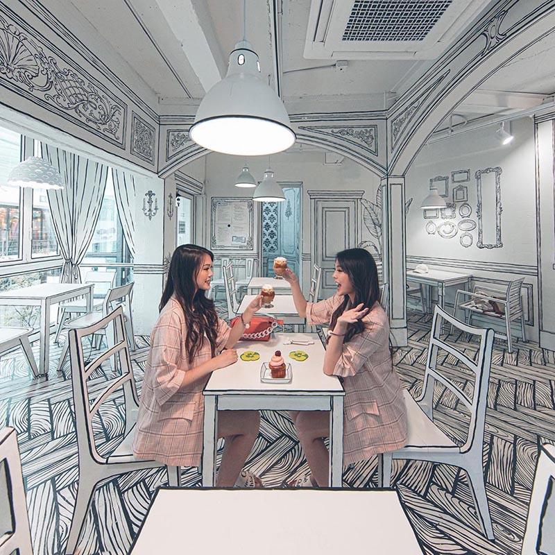 Cafe Yeonnam 239-20 Instagram Miranowt