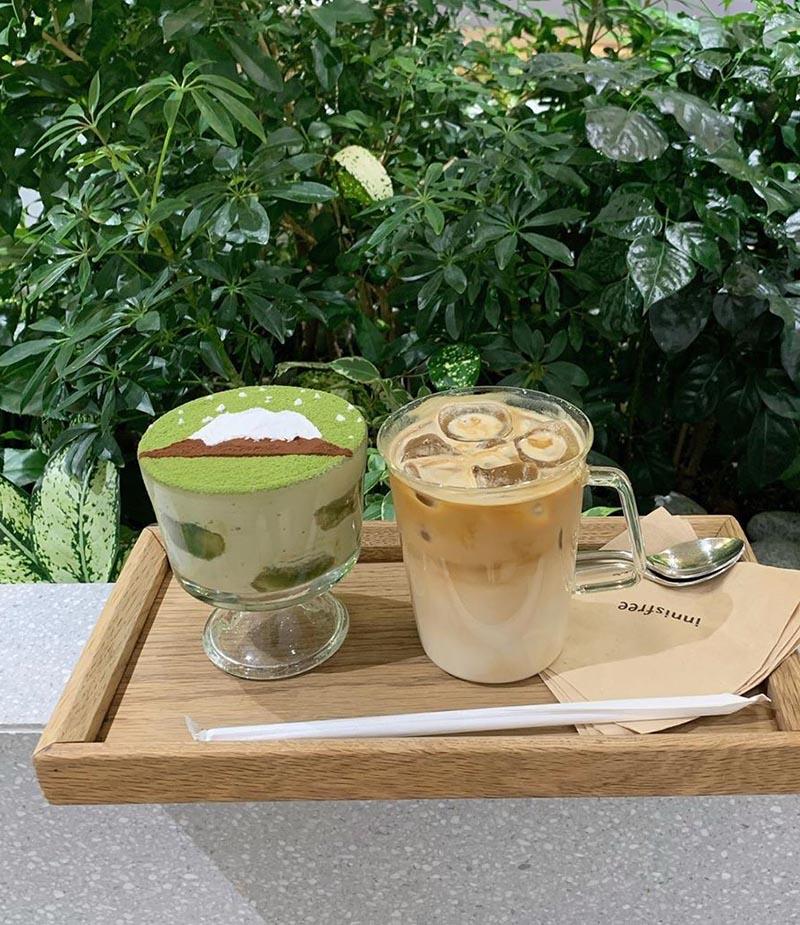 Innisfree Green Cafe Instagram My__kr022