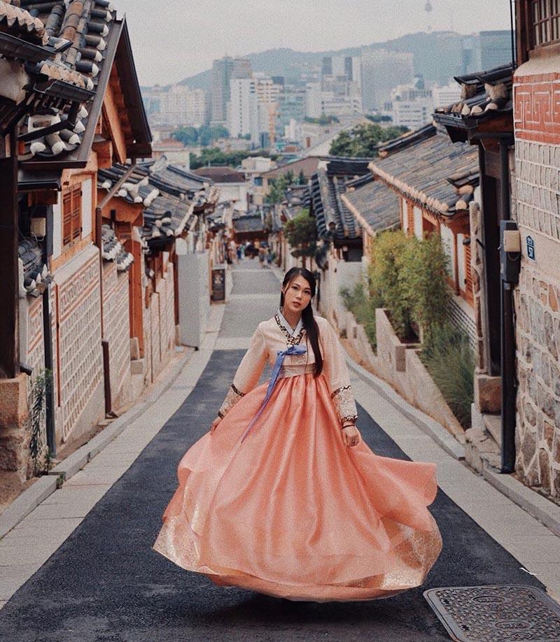 Korean hanbok Instagram Miranowt