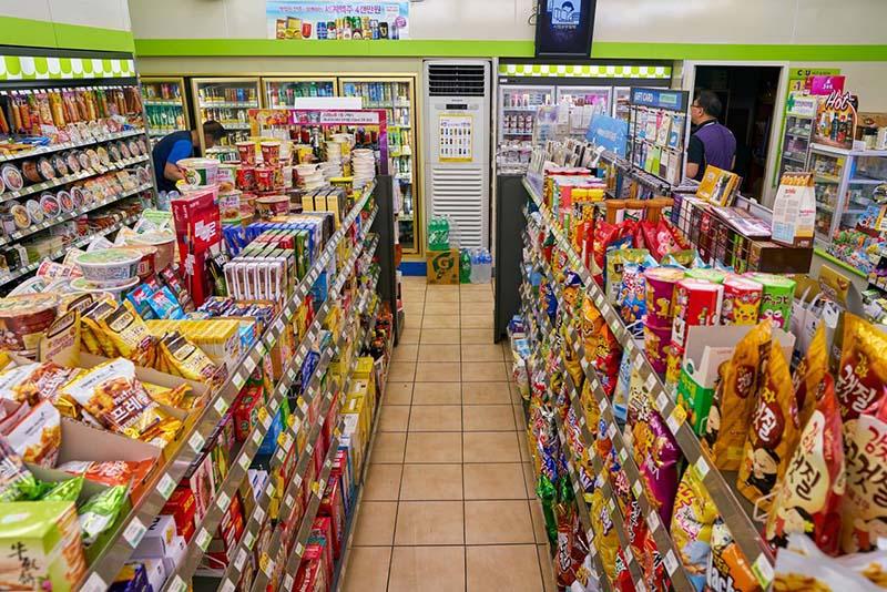 Korealaiset snacksit