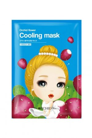 My orchid flower cooling mask